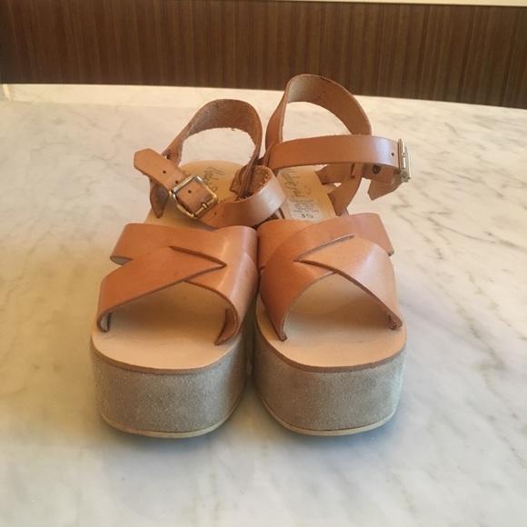 Vintage From The 7s Platform Sandals